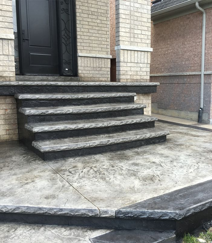17 Best Ideas About Stamped Concrete Driveway On Pinterest