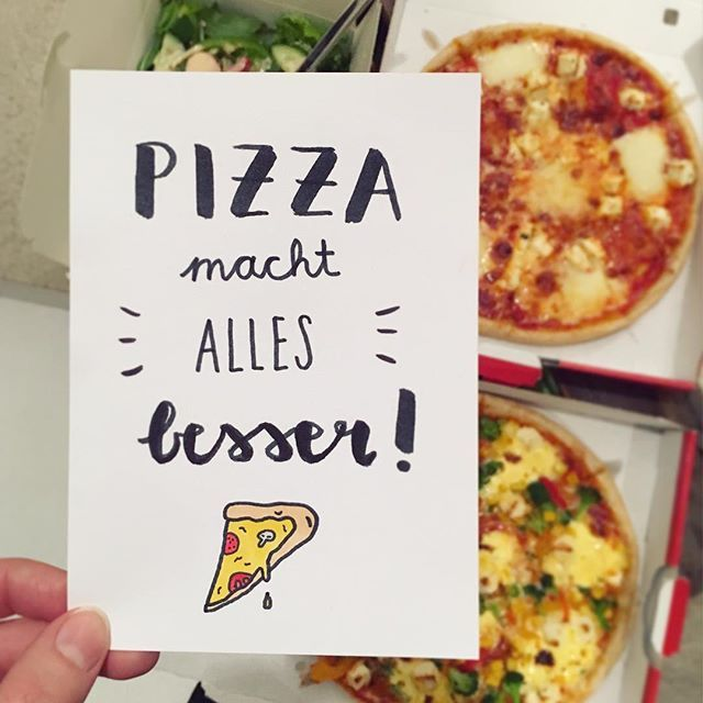 Pizza illustration by Luloveshandmade, photo by @aentschie