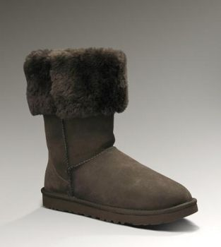 UGG Classic Tall 5815 Chocolate For Sale In UGG Outlet - $107.24 Save more than $100, Free Shipping, Free Tax, Door to door delivery