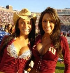 FSU Cowgirls - The Unofficial Cheer Squad of Florida State Football Games