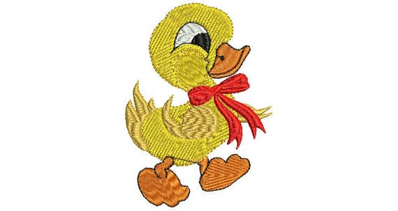 Stickdatei Comic Boy Duck  Artikelbeschreibung: Stickdatei = Digitale Stickmotive/Stickmuster für Stickmaschinen, bzw. Haushaltnähmaschinen mit