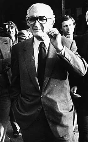 Legendary mafia boss Joe Bonnano.