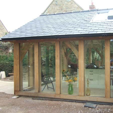 stone house kitchen extension - Google Search