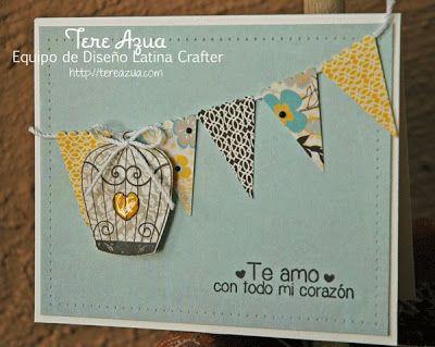 Latina Crafter - Sellos en Español: Reto #23 (LCSC23) y Ganadora Reto #22