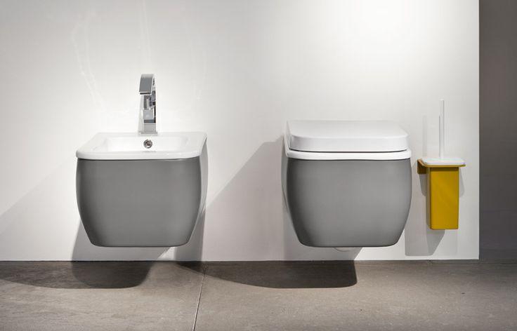non più solo ceramica: sanitari dai carter intercambiali http://www.edonedesign.it/prodotti/componenti/sanitari