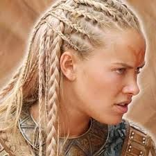 kristanna loken ring of the nibelungs Half corn-rows and little braids