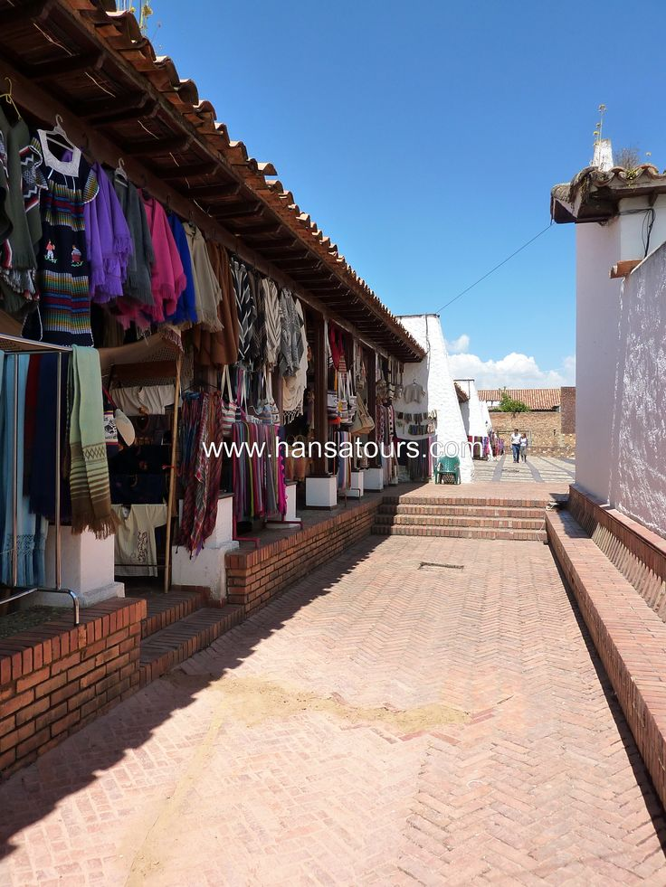 Market in Guatavita