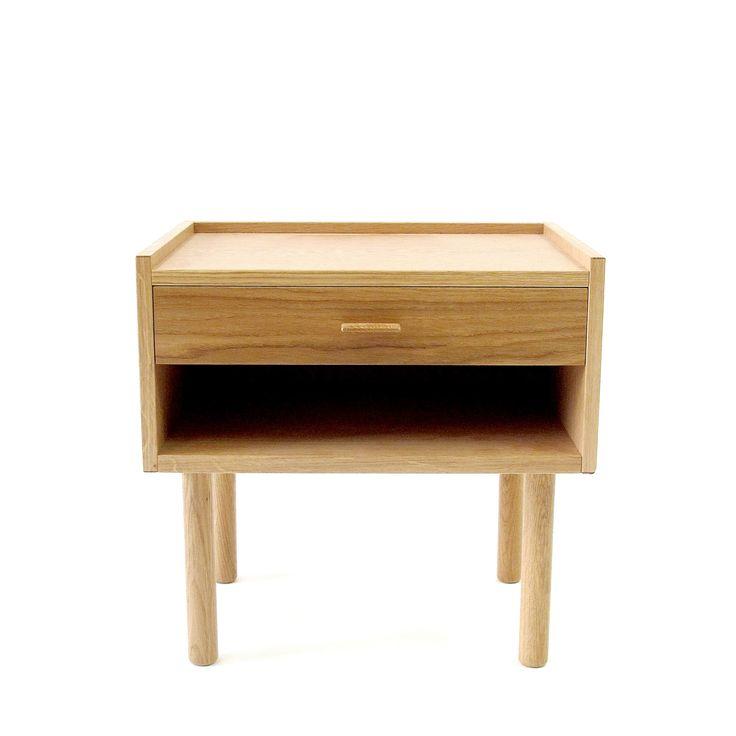 Wegner Bedside - Oak