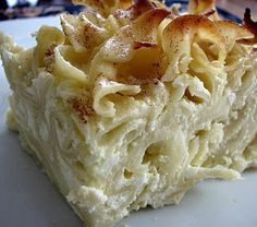 How To Cook A Wolf: Lokshen Kugel…Noodle Pudding