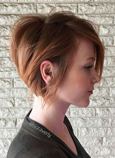 QUERO ESSE CABELO NO PRÓXIMO CORTE❤❤❤❤❤❤ Short Hairstyles for Women: Razor-Cut Short Bob