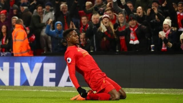 Divock Origi and James Milner sent Liverpool top with two late goals to down Sunderland 2-0 but the Reds were  Source