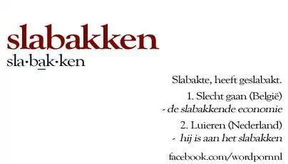 Slabakken #Wordporn - Nederlands en Vlaams