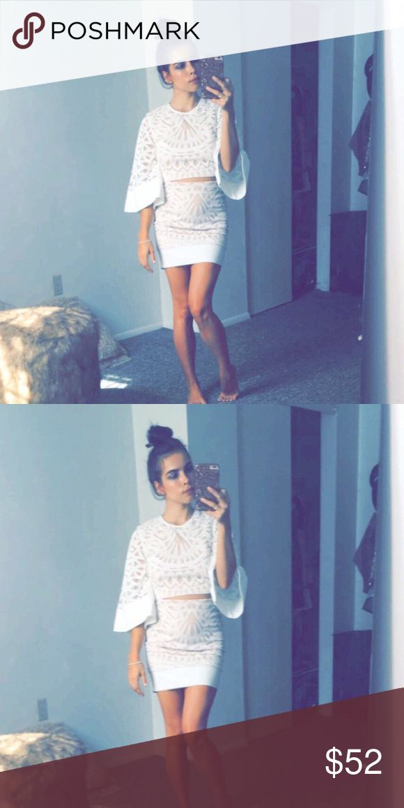 Cyber Monday sale!! Belle sleeved skirt set Love this! Skirts Skirt Sets