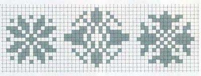 Punto de Cruz GRATIS: Botones forrados a punto de cruz
