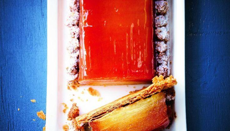 La tarte Tatin, c'est du beurre, du sucre, des pommes et beaucoup de pectine. Ce sont des ingrédients qui, en cuisant, viennent…