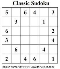 Bright image throughout 6x6 sudoku printable