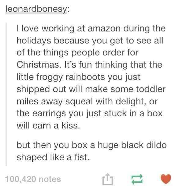 When they discovered the true meaning of Christmas. | 36 Times Tumblr Proved It Was The Funniest Place On The Internet