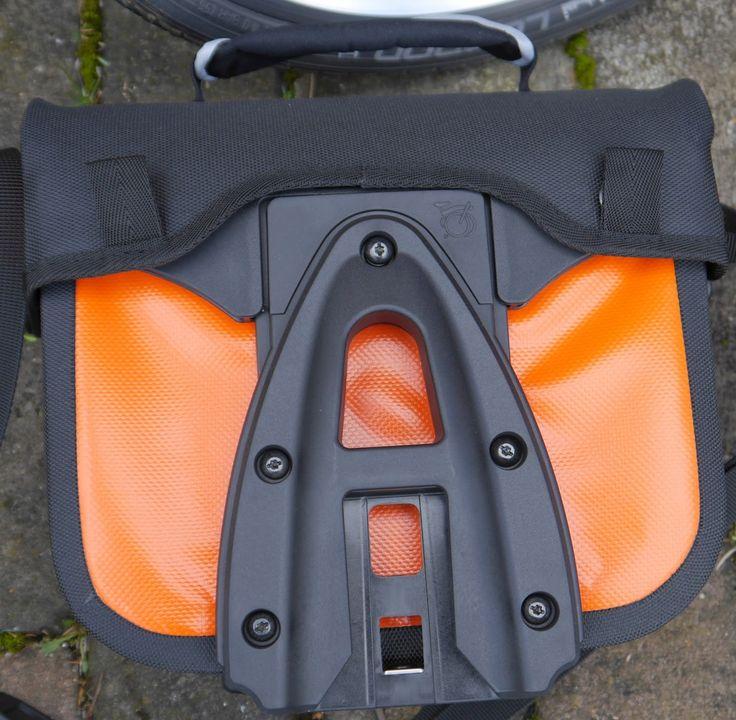 My Orange Brompton: Ortlieb Brompton Mini O Bag In Orange!!