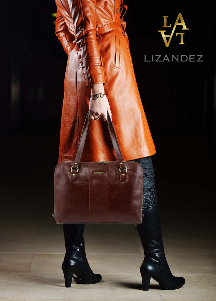 The women's leather business bag that combines style & class