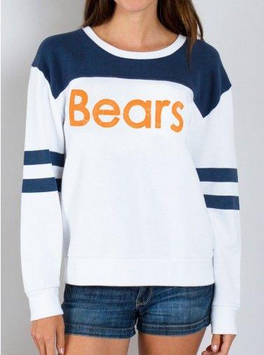 Junk Food Clothing - NFL Chicago Bears Sweatshirt