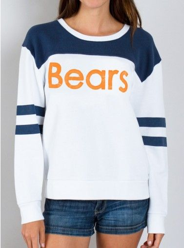 Junk Food Clothing - NFL Chicago Bears Sweatshirt