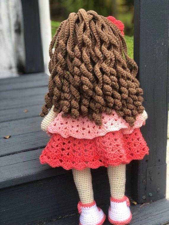 Encantadora chica conejita animal amigurumi con vestido encantador ... | 760x570