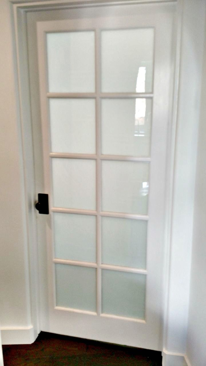 White Out Frost Film To Give This Bedroom More Privacy Dveri