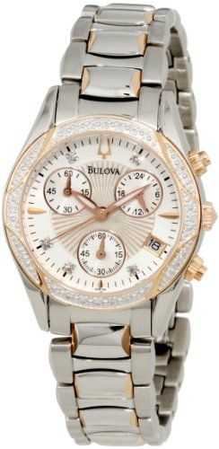 #Bulova #Women's 96R134 Diamond Case Mother-Of-Pearl Dial Bracelet #Watch       Really good price       http://amzn.to/HeRiFH