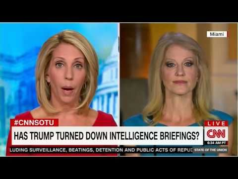 """Kellyanne Conway: Donald Trump's intelligence briefings are coming from """"a number of sources"""" - Salon.com"""