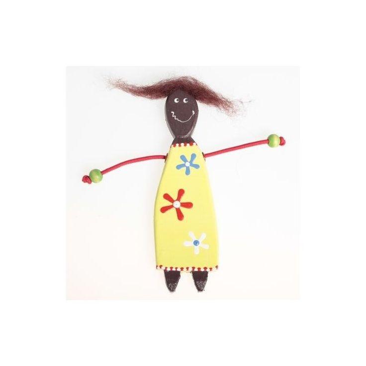 12cm African Girl Magnet12cm African Girl Magnet