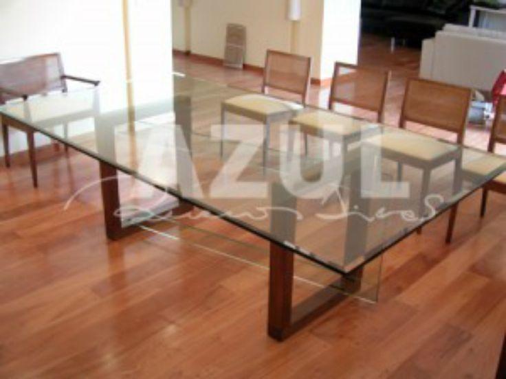 Azul Buenos Aires | Optar por una mesa de vidrio para el comedor: tips