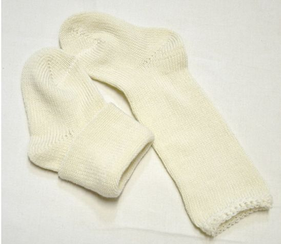 Носки-чулки для малышей из шерсти мереноса