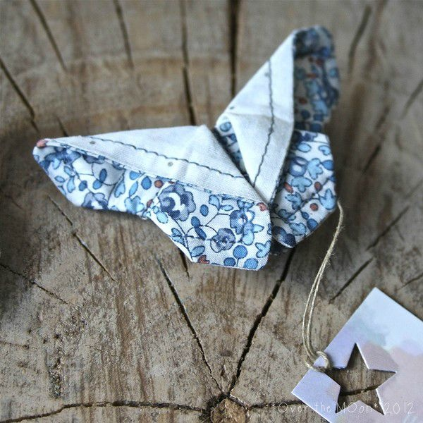 """Origami Butterfly"" hair clip"