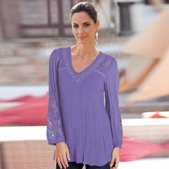 together /MD Women's Georgette Tunic With Camisole