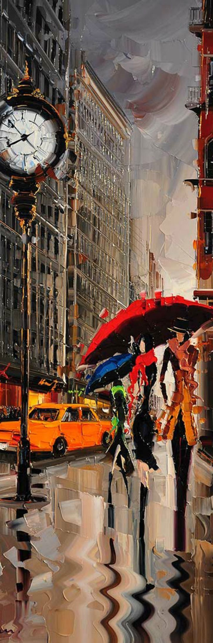 Cityscapes Paintings by Kal Gajoum (scheduled via www.tailwindapp.com)