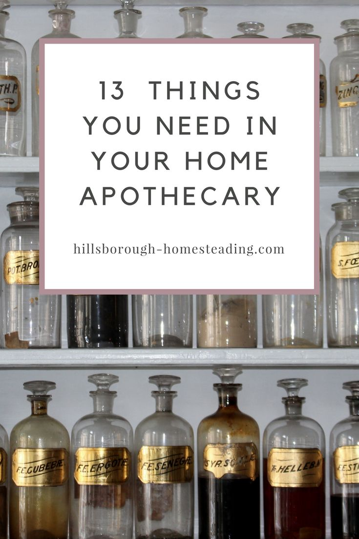If you're just starting out in your herbal journey, there are a few things you need to get started. I've compiled a list of the top 13 essential items you need to stock your home apothecary. | Hillsborough Homesteading