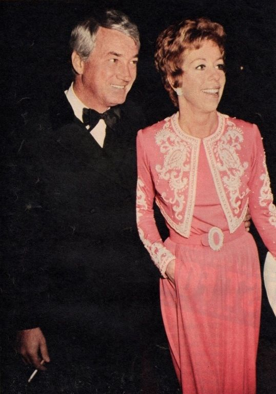 Carol Burnett and Joe Hamilton