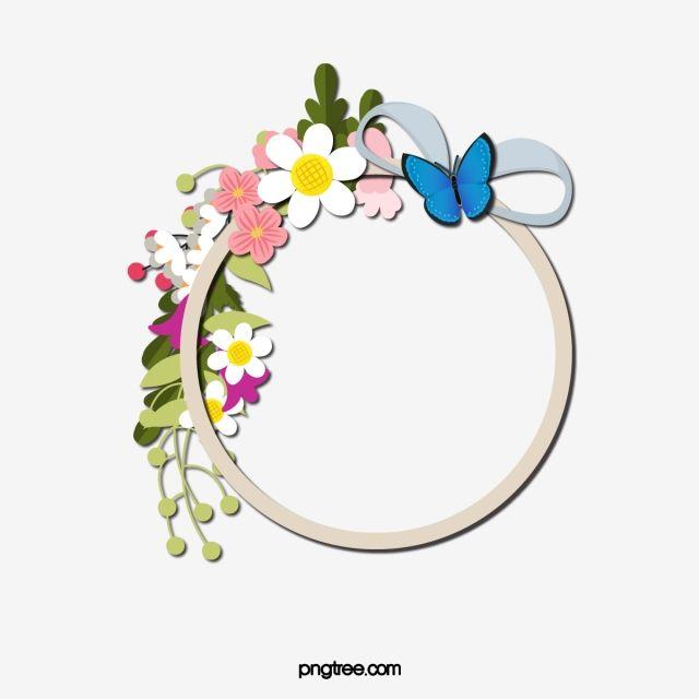 برواز الزهور فريم إطارات زهور إطار مادة Png وملف Psd للتحميل مجانا Flower Frame Frame Flowers