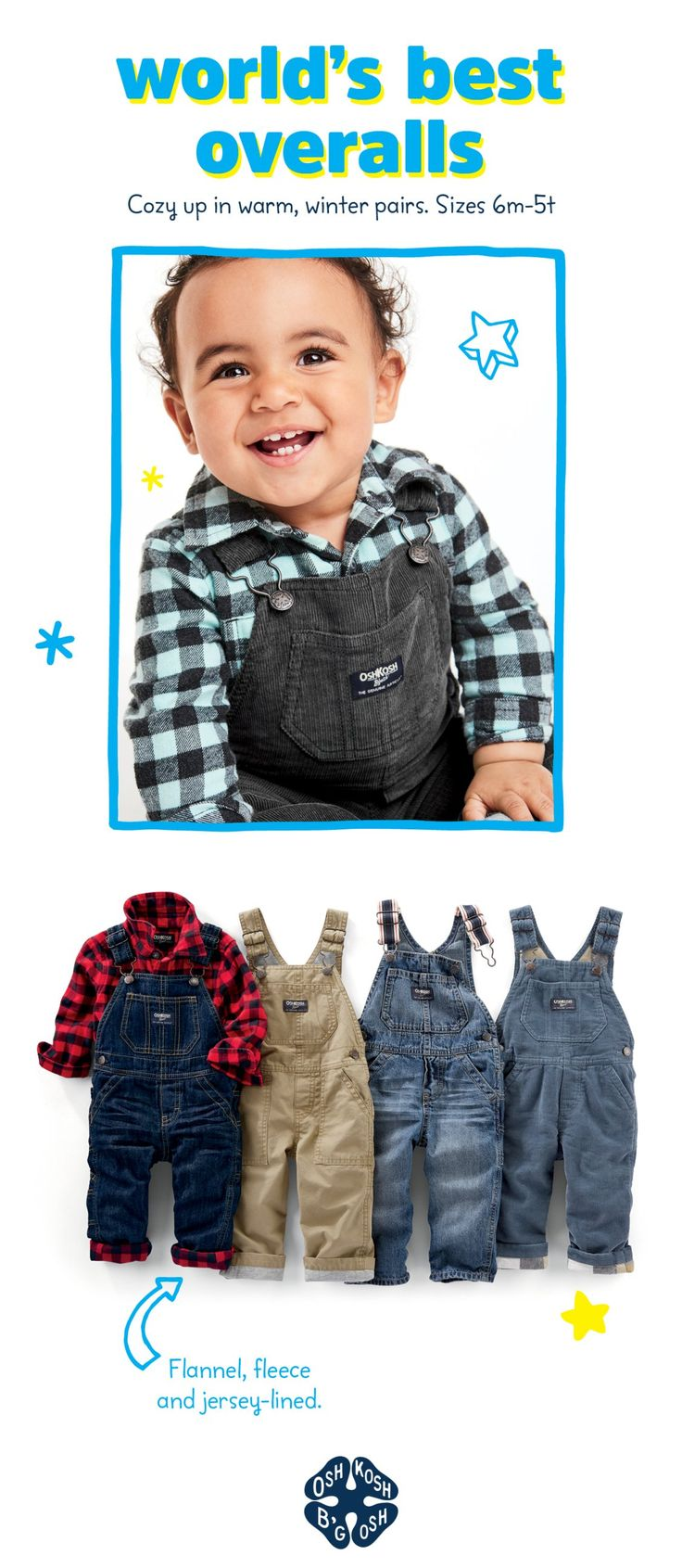 Shop the whole lineup of boys overalls