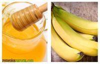 Mascarilla de Banana y Miel para brindar hidratación al cutis « Remediosnatural.com