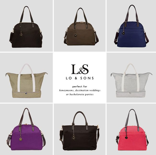 Lo & Sons travel bags
