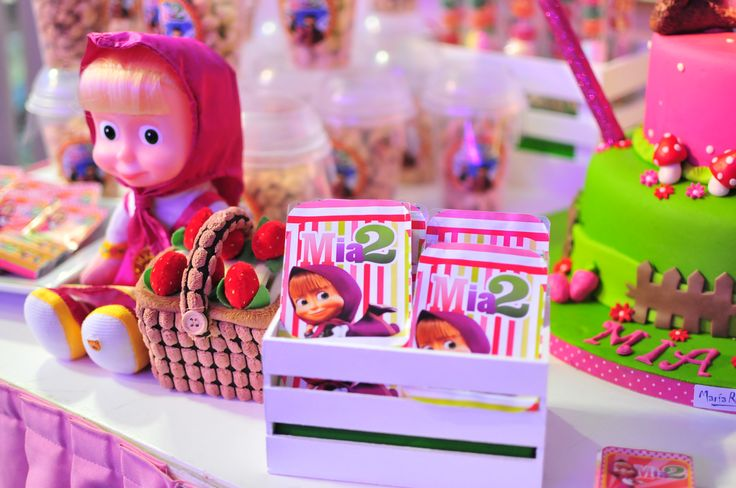 candy masha and the bear