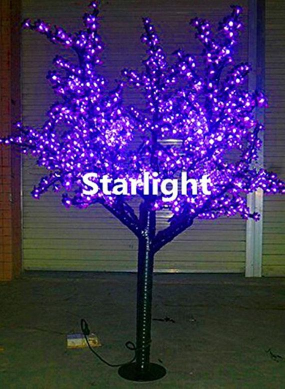 864pcs LEDs 6ft/18m Outdoor LED Artificial Cherry Blossom Tree