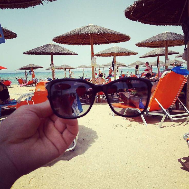 #bananabeach #ζακυνθος με γυαλιά ηλίου Armani EA4060 8G  #καλοκαίρι #παραλία #greece #beach #  γυαλιάηλίου
