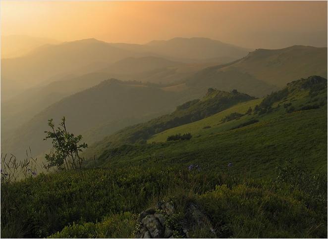 Bukowe Berdo in Bieszczady Mountains, Poland.