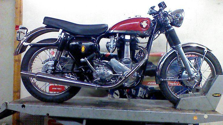 1958 BSA B33 500