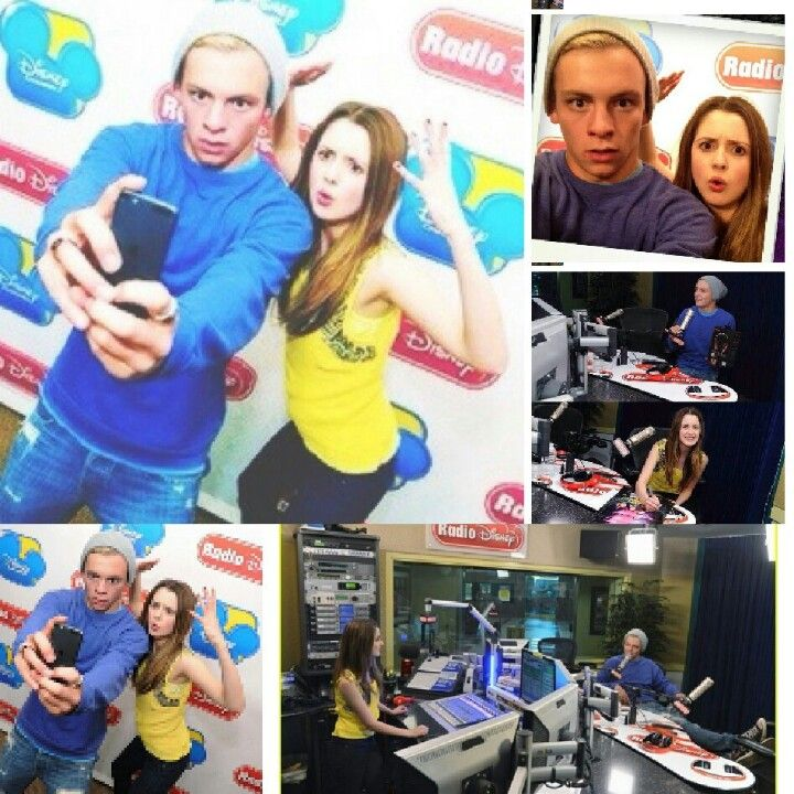 Ross Lynch and Laura Marano take over RD. ♡