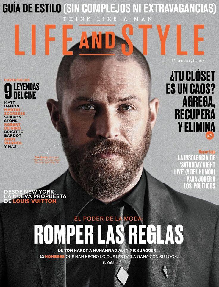 """Life and Style magazine (April 2017 issue). Life and Style """"Este mes cambiaremos la definición de la palabra 'estilo'. En nuestra edición de abril te presentamos las reglas que todo caballero debe romper. Además, te presentamos a las leyendas del..."""