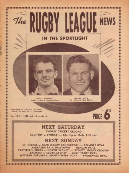 The Rugby League News