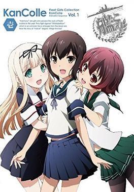 kancolle kantai collection anime vol1 sticker on ja816p planes